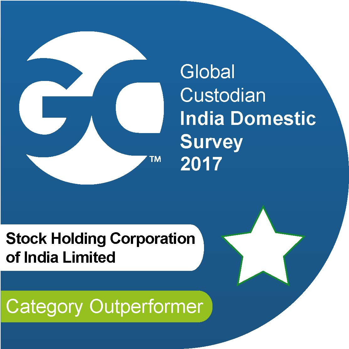 StockHolding Corporation Of India Limited BEST CUSTODIAN BUSINESS EXCELLENCE